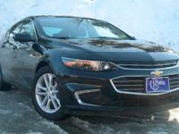 2016 Chevrolet Malibu, Black, One Owner, Accident Free