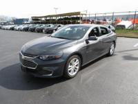 Malibu 1LT 1LT, 4D Sedan, 1.5L DOHC, 6-Speed Automatic,
