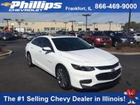 Options:  2016 Chevrolet Malibu Premier W/2Lz|White|You
