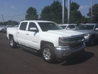 White 2016 Chevrolet Silverado 1500 LT LT1 RWD 6-Speed