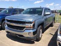 Blue 2016 Chevrolet Silverado 1500 LT 4WD 6-Speed