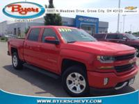 CARFAX One-Owner. Red Hot 2016 Chevrolet Silverado 1500