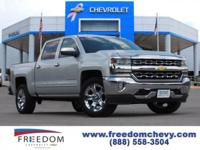 This 2016 Chevrolet Silverado 1500 LTZ is offered to