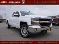 New Price! Summit White 2016 Chevrolet Silverado 1500