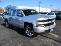 2016 Chevrolet Silverado 1500 Custom 4WD 6-Speed