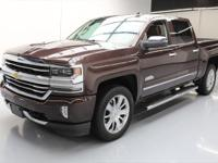 2016 Chevrolet Silverado 1500 with High Country Premium