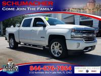 Options:  2016 Chevrolet Silverado 1500 High Country|