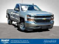Options:  2016 Chevrolet Silverado 1500 Ls|Silver Ice