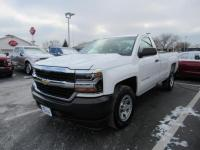 Summit White 2016 Chevrolet Silverado 1500 WT RWD