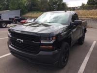 Certified. This 2016 Chevrolet Silverado 1500 in Black