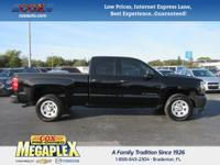 This 2016 Chevrolet Silverado 1500 in Black is well