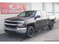 One Owner, Low Mileage Silverado 1500 Crew Cab 4x4 LT.