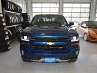 Options:  2016 Chevrolet Silverado 1500 Lt|Blue|Here At