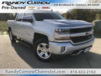Options:  2016 Chevrolet Silverado 1500 Lt|Silver Ice