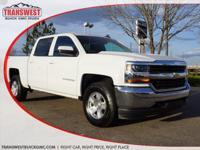 Options:  2016 Chevrolet Silverado 1500 Lt|White|Black
