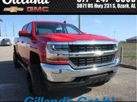 Silverado1500 4wd Crew Cab with 6 RC Lift, XD820