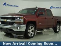 2016 Chevrolet Silverado 1500 LT in Siren Red Tintcoat,