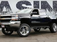 This 2016 Chevrolet Silverado 1500 4dr 8 FULL THROTTLE