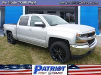 LT trim. EPA 22 MPG Hwy/16 MPG City! 4x4, Aluminum