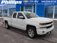2016 Chevrolet Silverado 1500 LT LT2 Summit White