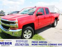 Recent Arrival! Red Chevrolet Silverado 1500 **ANOTHER