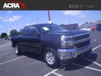 2016 Chevrolet Silverado 1500, key features include: