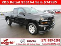 1-Owner New Vehicle Trade! LT 5.3 V8 Double Cab 4x4.
