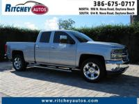 CERTIFIED PRE-OWNED 2016 CHEVY SILVERADO 1500 LTZ 2WD