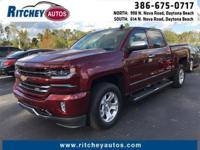 CERTIFIED PRE-OWNED 2016 CHEVY SILVERADO 1500 LTZ 4WD
