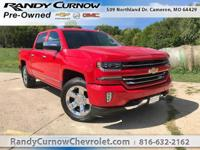 Options:  2016 Chevrolet Silverado 1500 Ltz|Red