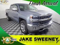 As smart as it is strong, our 2016 Chevrolet Silverado