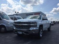 Wow! Just Wow! 2016 Chevrolet Silverado 1500 LTZ Crew