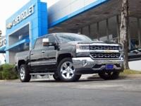 Black 2016 Chevrolet Silverado 1500 LTZ 1LZ 4WD 8-Speed