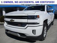 Summit White 2016 Chevrolet Silverado 1500 LTZ 4WD