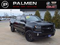 Black 2016 Chevrolet Silverado 1500 LTZ 2LZ 4WD 8-Speed