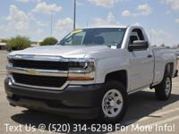 Options:  2016 Chevrolet Silverado 1500 2Wd Reg Cab