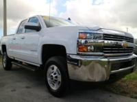2016 Chevrolet Silverado 2500HD LT Summit White 6-Speed