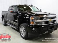 2016 Chevrolet Silverado 2500HD High Country Black