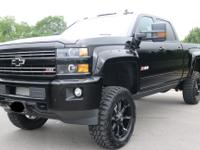 2016 Chevrolet Silverado 2500 Crew Cab MidnightEdition