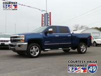Grab a steal on this 2016 Chevrolet Silverado 2500HD