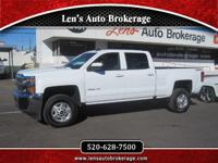 Options:  2016 Chevrolet Silverado 2500Hd Great Deal On