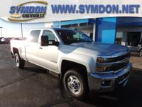 Options:  2016 Chevrolet Silverado 2500Hd Lt|4X4 Lt 4Dr