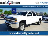 This Chevrolet includes: 2'' Level Kit, LT295/70/17