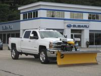 ***** 2500 HD LTZ / FISHER PLOW / 6.0 V8 ***** This