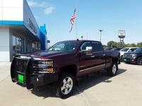 Red Metallic 2016 Chevrolet Silverado 2500HD LTZ 4WD