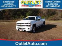 This 2016 Chevrolet Silverado 2500HD LTZ is proudly