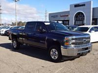 Options:  2016 Chevrolet Silverado 2500Hd|Crew Cab