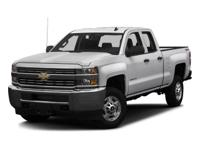 Chevrolet Silverado 2500HD Work Truck 2016 White