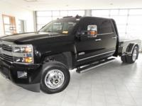 Black 2016 Chevrolet Silverado 3500HD High Country 4WD