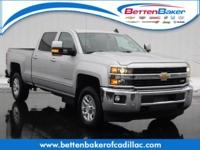 NEARLY NEW ONE OWNER Silverado 3500HD LTZ CREW cab w/